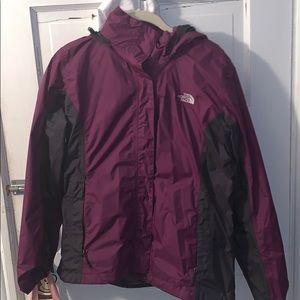North face rain jacket!